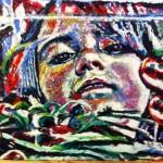 """""""Ladybug""""  18"""" X 24""""  Oil on Canvas  Available"""