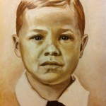 """Alabama Boy""   9"" X 12""   Oil on Canvas Private Collection"